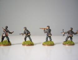 CAESAR H052- H053 Infantería alemana