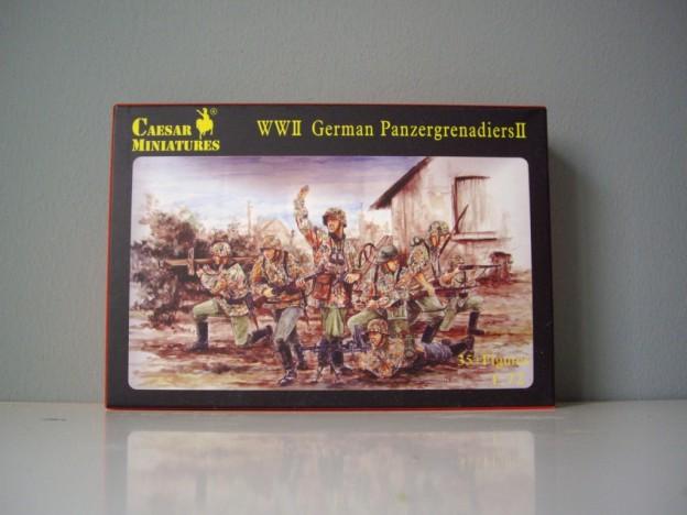 CAESAR H052- H053 German Infantry – German Panzergrenadier SET I – II [UPDATED]