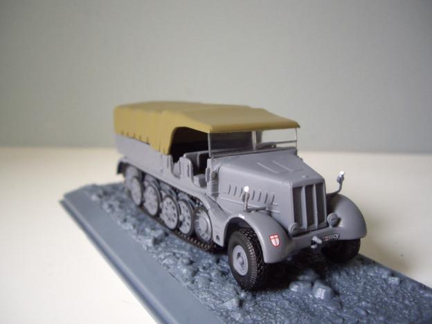 """nº26 – Altaya Schwerer Zugkraftwagen 18 t (Sd.Kfz.9) """"FAMO"""""""