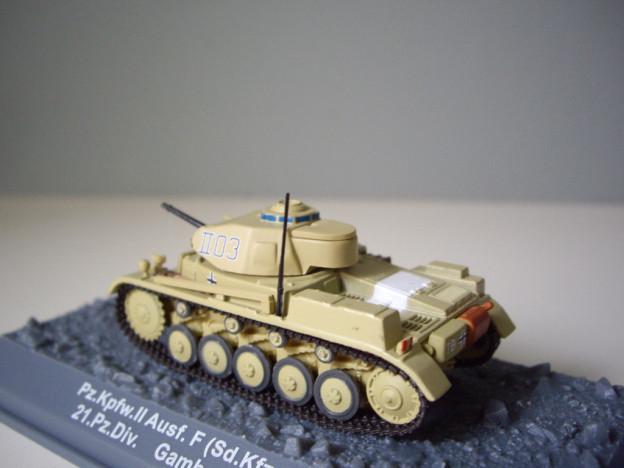 nº20 – Altaya Panzer Kpfw. II Ausf. F (Sd.Kfz. 121)