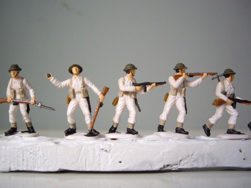 Italeri British Infantry Belting
