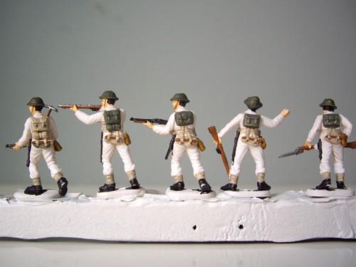 Italeri British Infantry back belting