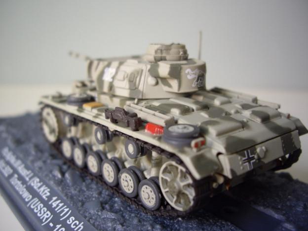 nº08 – Altaya Panzer Kpfw. III Ausf.L (Sdkfz. 141/2)