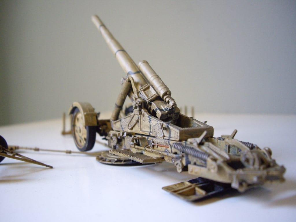 revell 21 cm m rser 18 1 72 depot miniatures plastic soldier scale models diecast. Black Bedroom Furniture Sets. Home Design Ideas