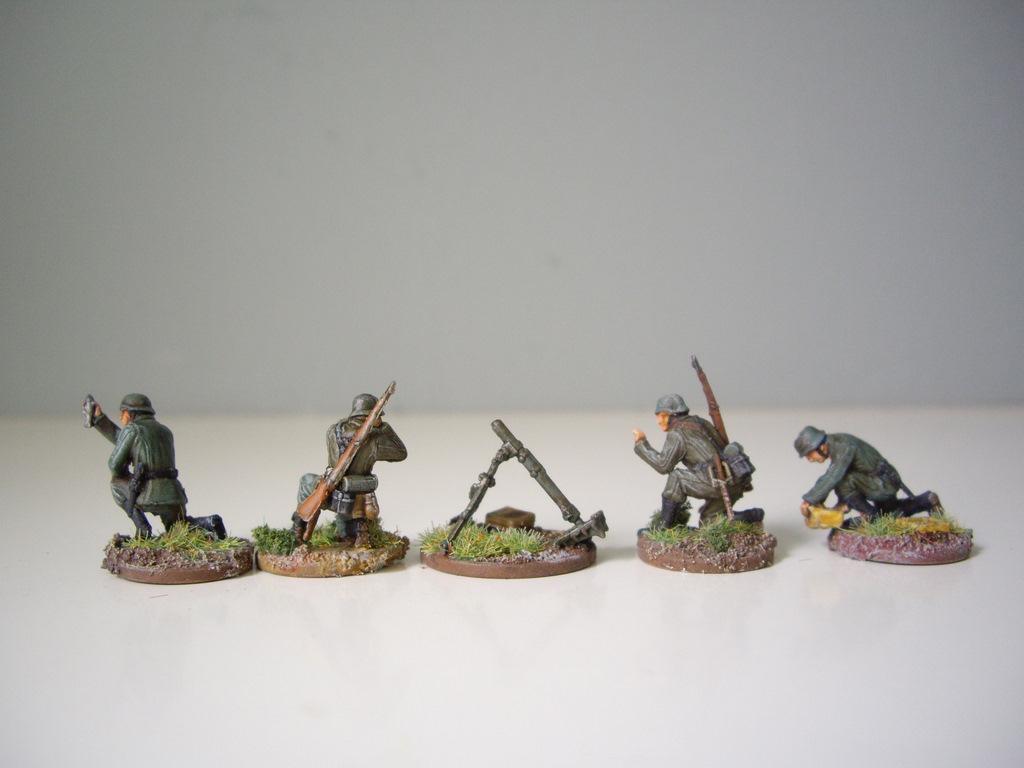 pegasus 7204 german mortar teams  granatwerfer
