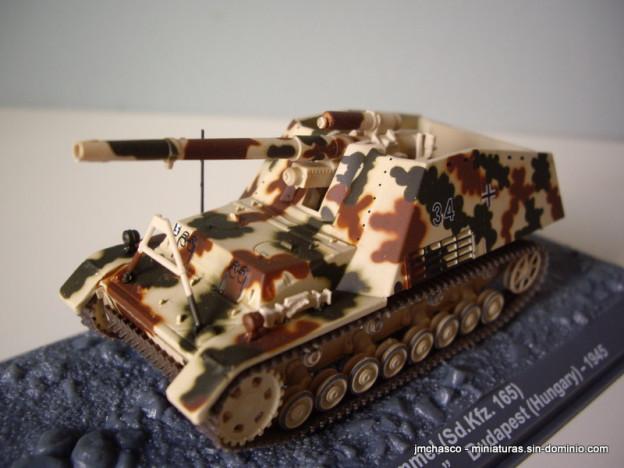 nº21 – Altaya Hummel (Sd. Kfz. 165)