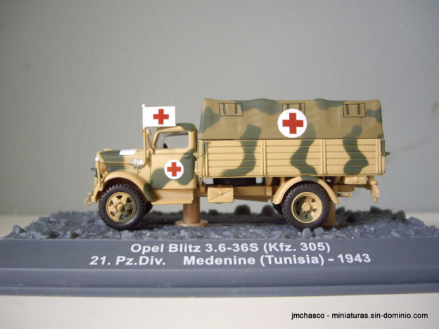 nº36 – Opel Blitz 3.6-36S (Kfz.305)