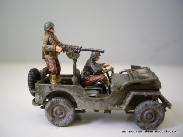Airfix Wilys Jeep