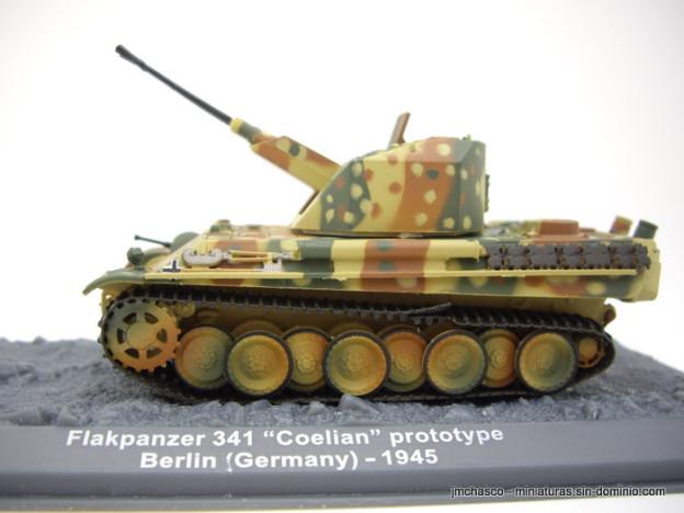 nº44 – Altaya – IXO Flakpanzer 341 Coelian Prototype