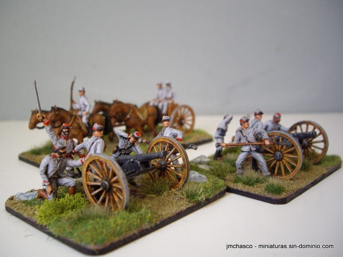 1/72 Accurate 7204 American Civil War Artillery Team