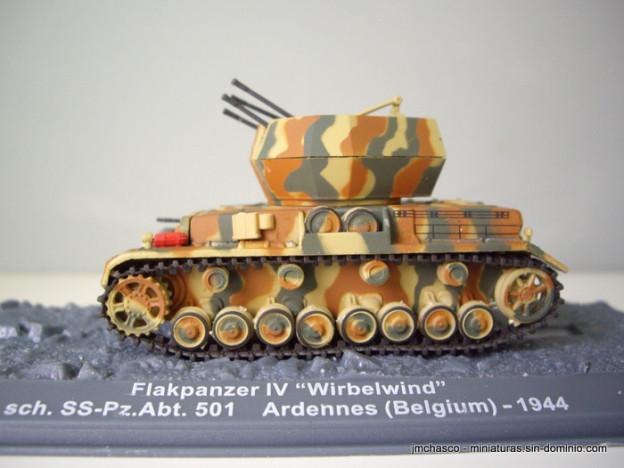 "nº49 – Altaya IXO Flakpanzer IV ""Wirbelwind"""