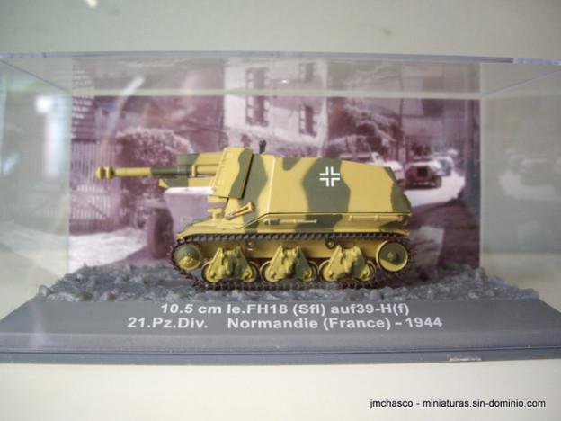 nº53 – Altaya IXO 10.5 cm le.FH18 (Sfl) auf39-H(f)