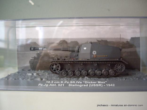 """nº52 – Altaya IXO 10.5 cm K.Pz.Sfl.IVa """"Dicker Max"""""""