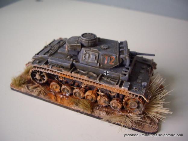 Italeri 1/72 7507 Panzer III Ausf. J