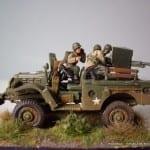 Italeri M6 Anti Tank Vehicle-IMGP3611