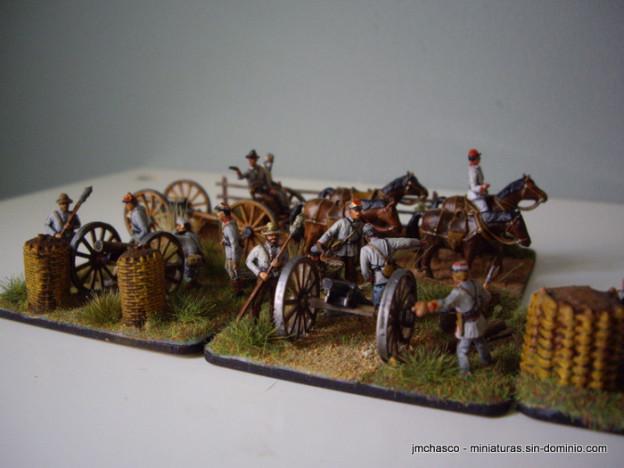 Imex 1/72 502 Confederate Artillery