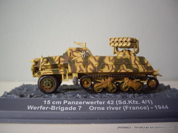 nº54 – 15 cm Panzerwerfer 42 Sd.Kfz. 4/1