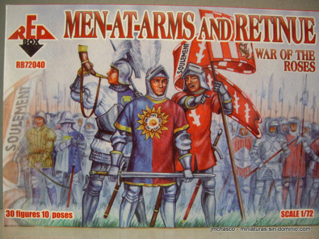 1/72 RedBox RB72040 Men At Arms and Retinue