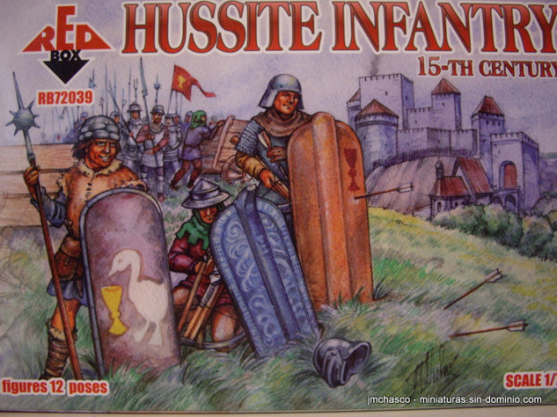 1/72 RedBox RB72039 Hussite Infantry