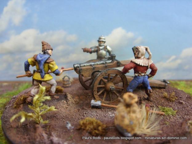 Zvezda 1/72 8027 – Medieval Field Powder Artillery
