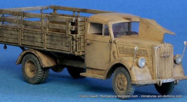1/72 Opel Blitz 3ton – Roden 710