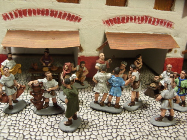 Strelets Roman market