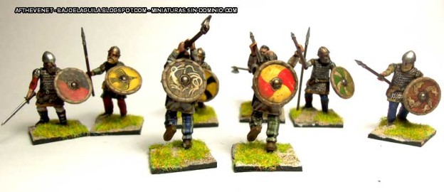 Wargames Factory Viking Huscarls