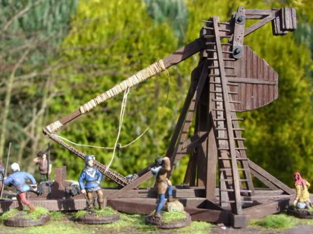 Fredericus-rex Medieval Trebuchet + Crew