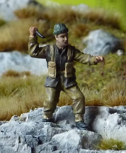 Caesar World war two British Commandos 1/72 pt1.