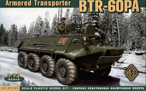 ACE – 72161 – BTR-60PA – Vehicles - 1/72 Scale - Miniature