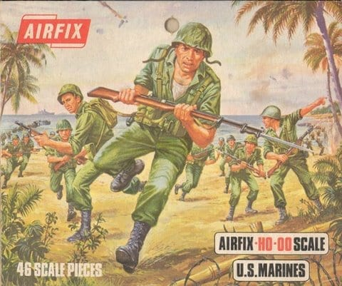 Airfix – 01716 – World War II U.S. Marines