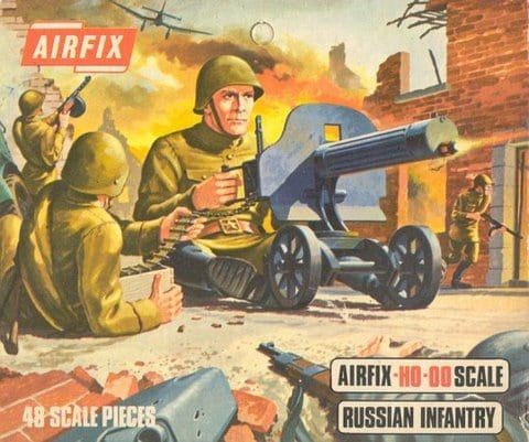 Airfix – 01717 – World War II Russian Infantry