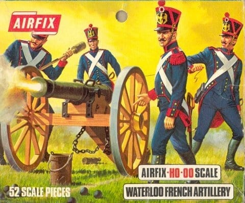 Airfix 01737 Waterloo French Artillery Figures 1