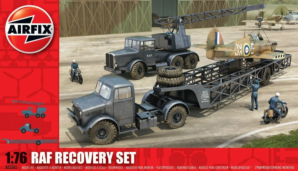 Airfix – 3305 – RAF Recovery Set
