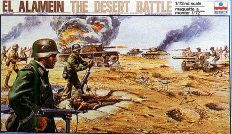 """Army Vehicles For Sale >> ESCI – 2003 – El Alamein """"The Desert Battle"""" – Playsets ..."""