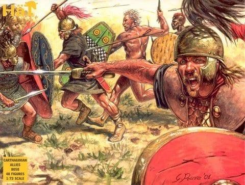 MIB 8152 Hat Punic Wars Cartheginian Army 1//72