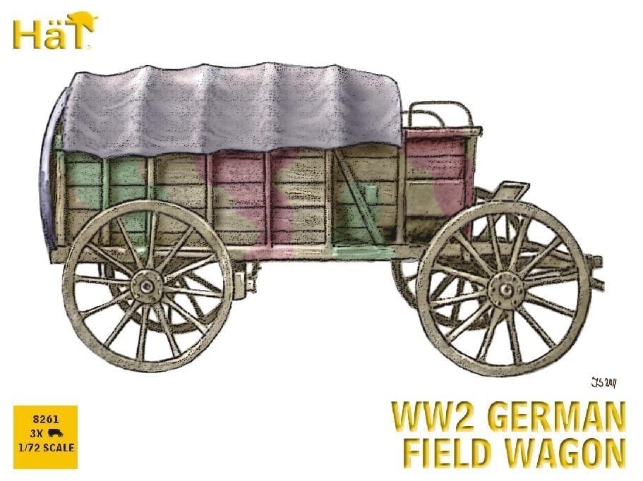 HaT – 8261 – WW2 German Wagon – Figures - 1/72 Scale ...