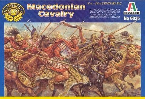 Soldatini Figure ITALERI 1//72  6035 MACEDONIA CAVALLERIA