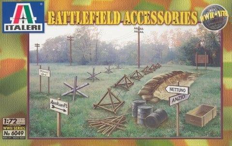 Italeri WWII Accessoires 6049 1:72 FIGURES Kit