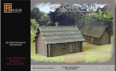 Pegasus 7703 Russian Farm House Buildings And
