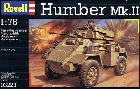revell 03223 humber mk ii armoured car vehicles 1 72 scale miniature figures scale. Black Bedroom Furniture Sets. Home Design Ideas