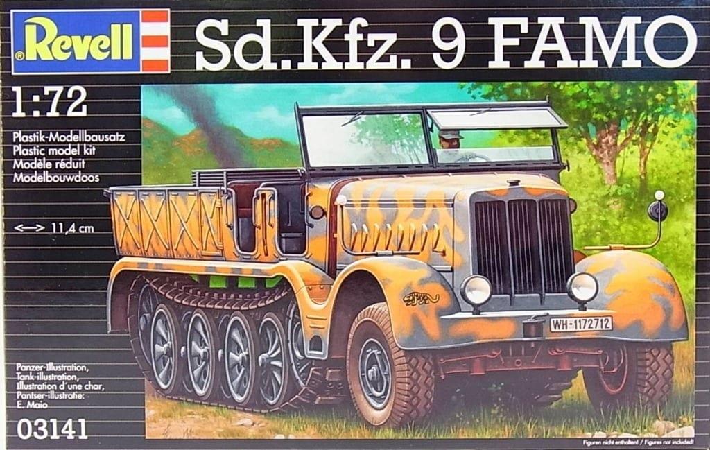 "Revell – 03141 – Sd Kfz  9 Halftrack ""FAMO"" 18t – Vehicles"