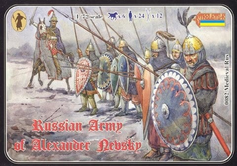 Strelets – 082 – Russian Army of Alexander Nevsky