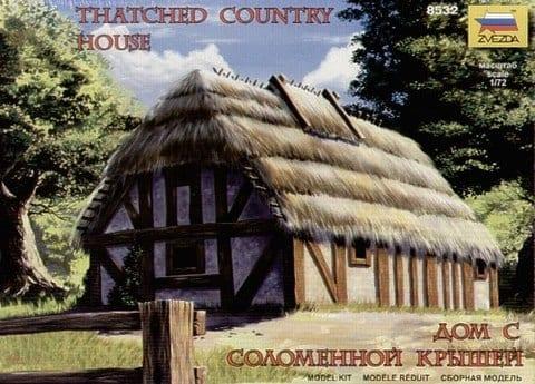 V-29 Zvezda 8532 Thatched Country Casa Casa Rustica Modellismo 1//72