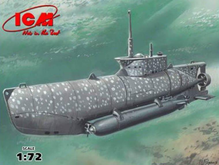 ICM – S.006  – U-boat Type XXVIIB Seehund (early) WWII German Midget Submarine