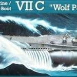 Revell – 5015 – German Submarine Type VII-C Wolf Pack