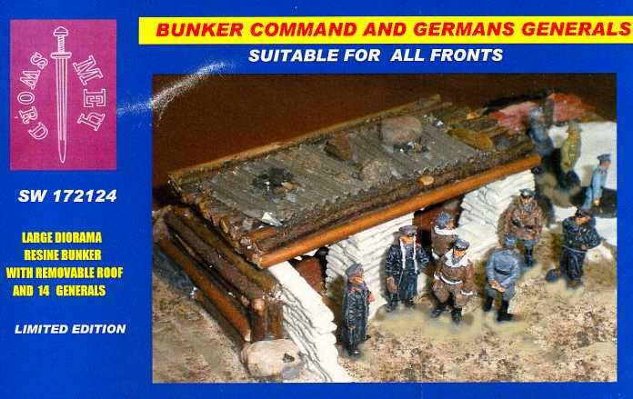 Sword 172124 Command Bunker And German Generals
