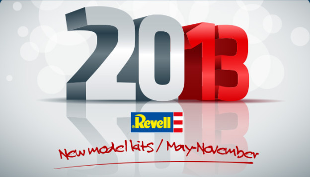 More Revell novelties for 2013.