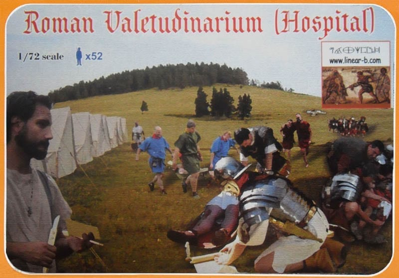 1:72 FIGUREN 005 ROMAN HOSPITAL LIMITIERT LINEAR-B