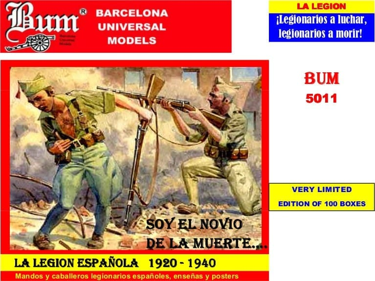 BUM – 5011 – Spanish Civil War – Legion